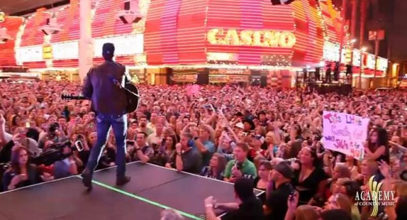 ACM Weekend on Fremont Street - Friday Night